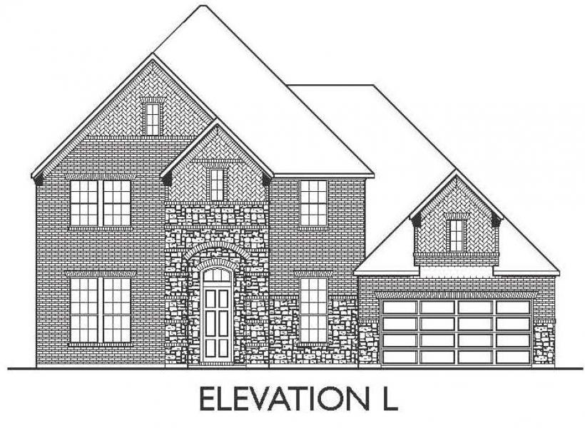 Montesa, League City - Elevation L