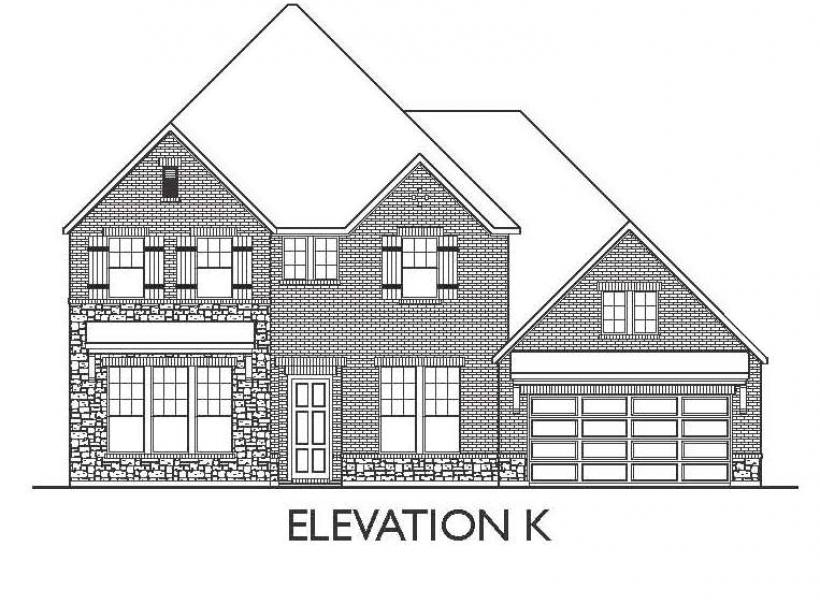 Montesa, League City - Elevation K