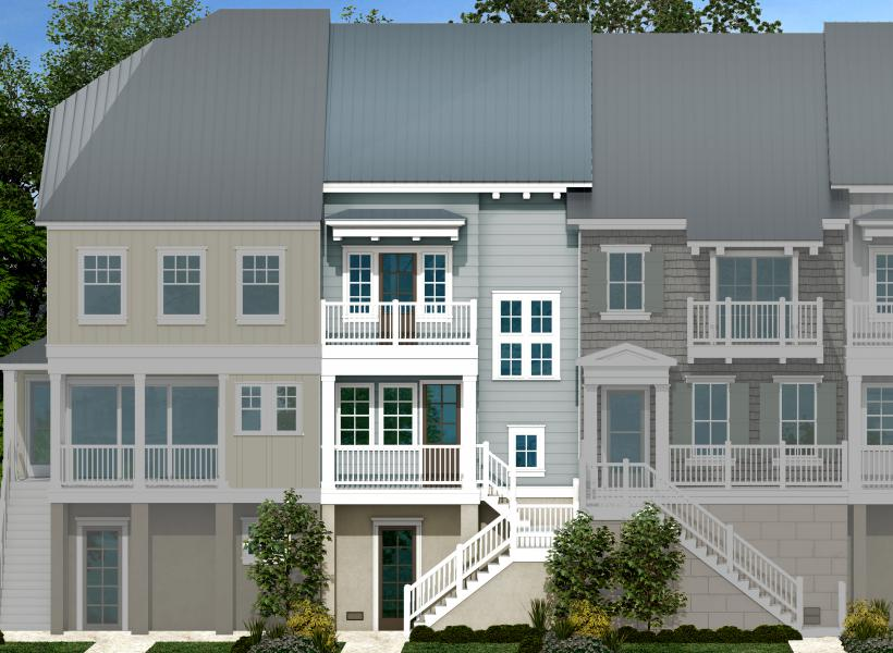 Skipjack w/ Loft, Indian Shores - Elevation F