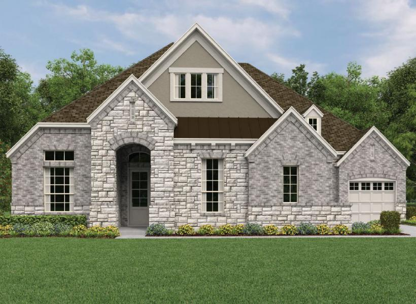 Sonoma, League City - Elevation A