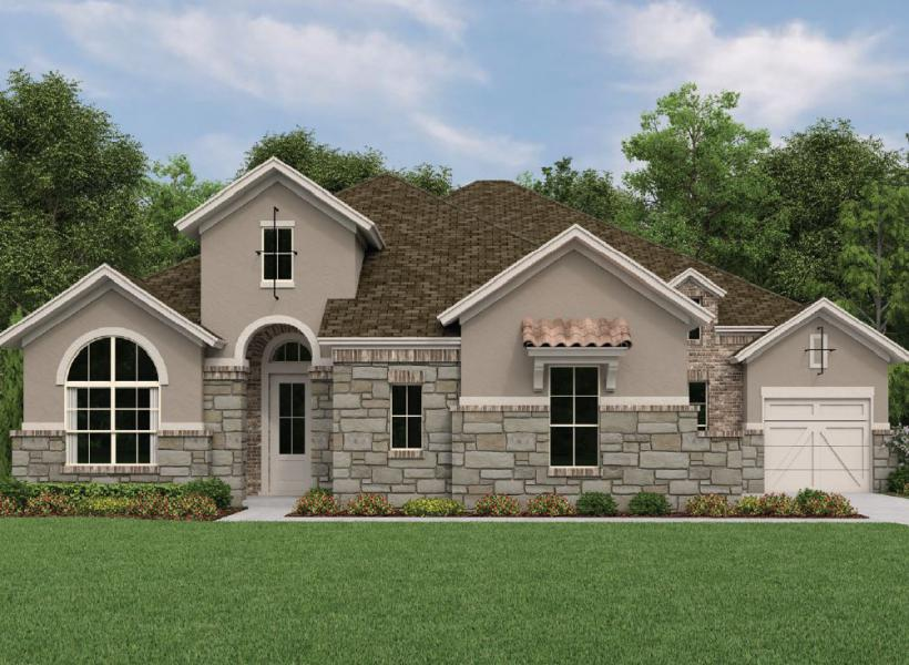 Sonoma, League City - Elevation B
