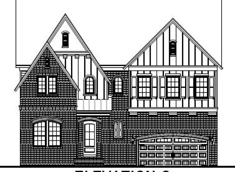 The Bentley at Amberly Estates, Cary - Elevation C