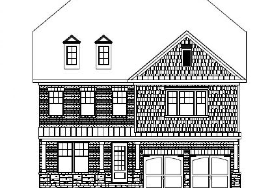 The Winslow at Amberly, Cary - Elevation A