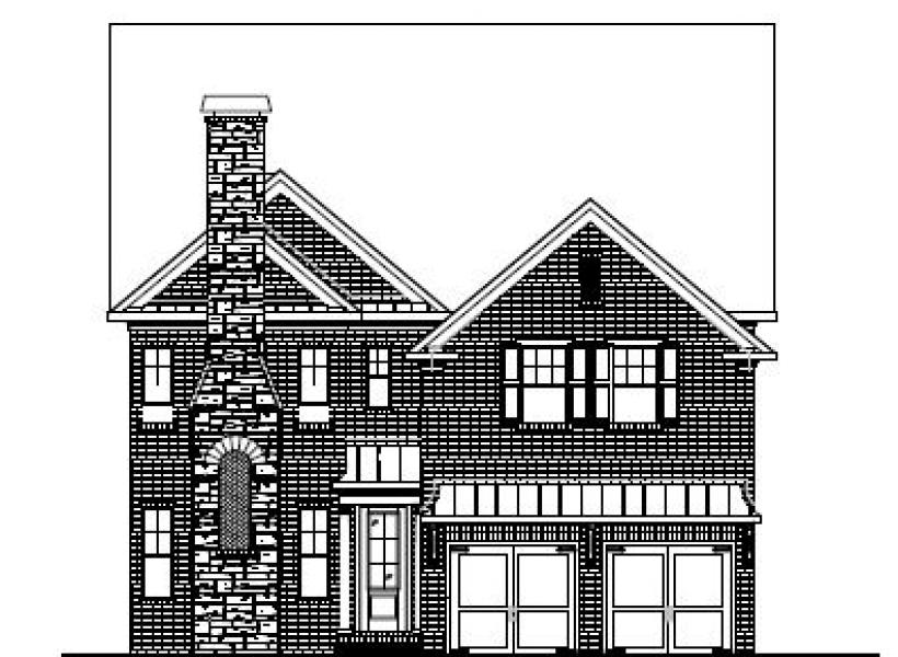 The Winslow at Amberly, Cary - Elevation C