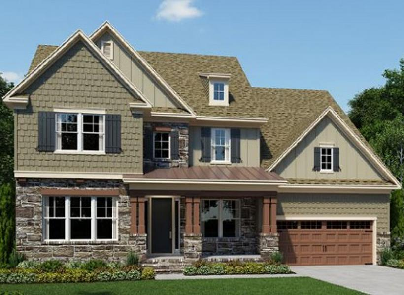 The Chessington at Greys Landing, Raleigh - Elevation C