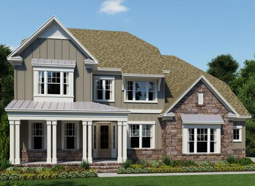 The Chessington at Greys Landing, Raleigh - Elevation F