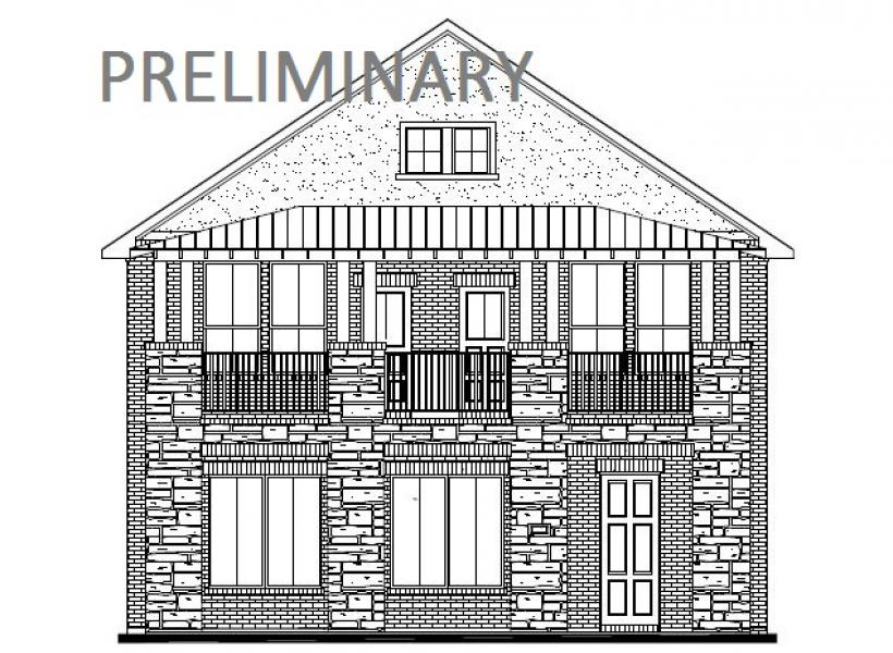 Verona, Cypress - Elevation B