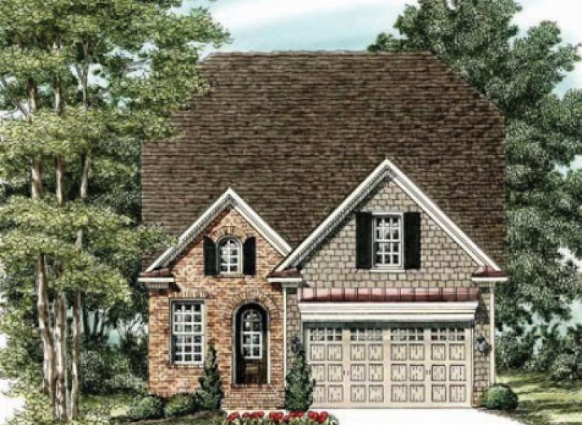 The Waverly- Two Story,  - Elevation A