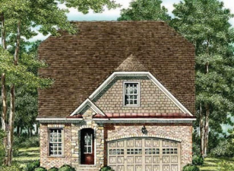 The Waverly- Two Story,  - Elevation B