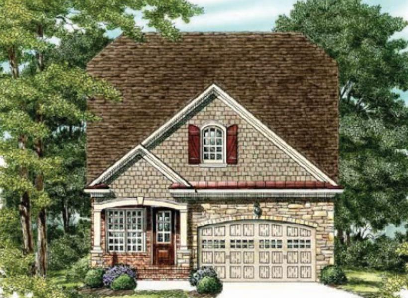The Waverly- Two Story,  - Elevation D