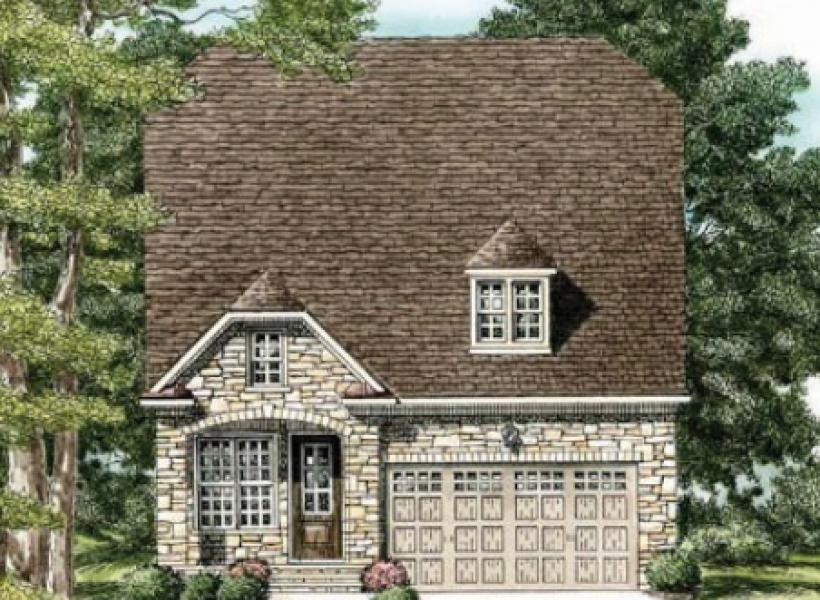 The Waverly- Two Story,  - Elevation E