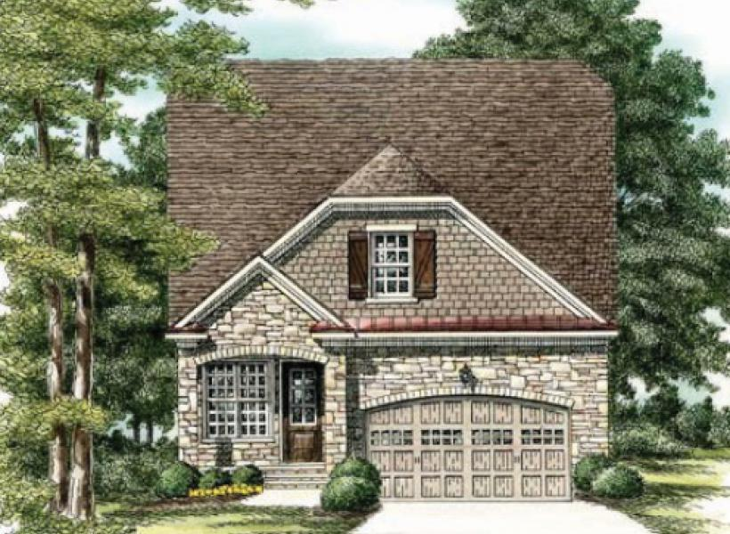 The Waverly- Two Story,  - Elevation F