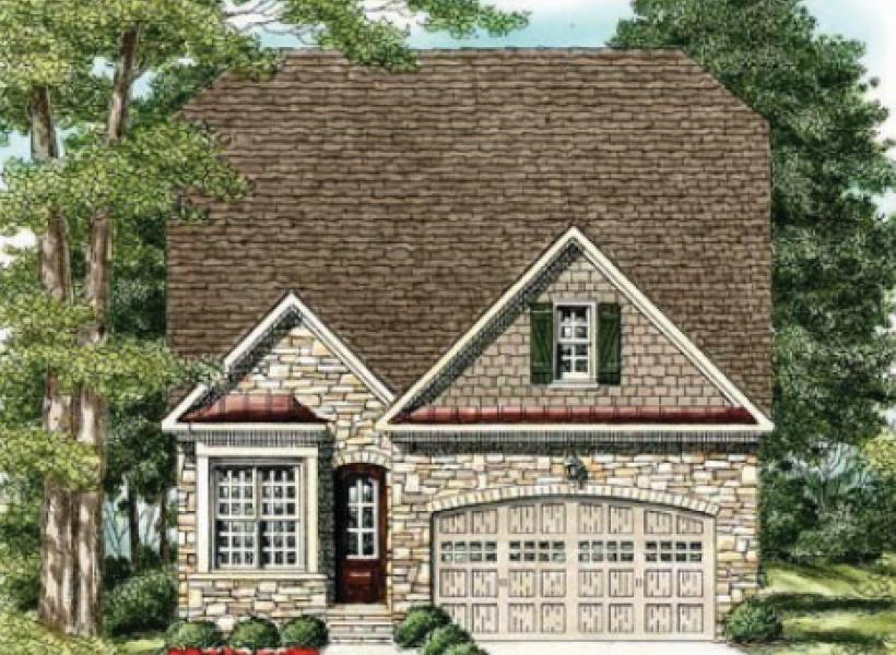The Waverly- Two Story,  - Elevation G