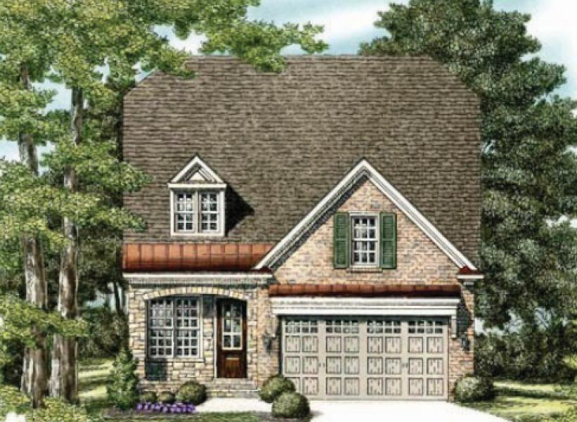 The Waverly- Two Story,  - Elevation H