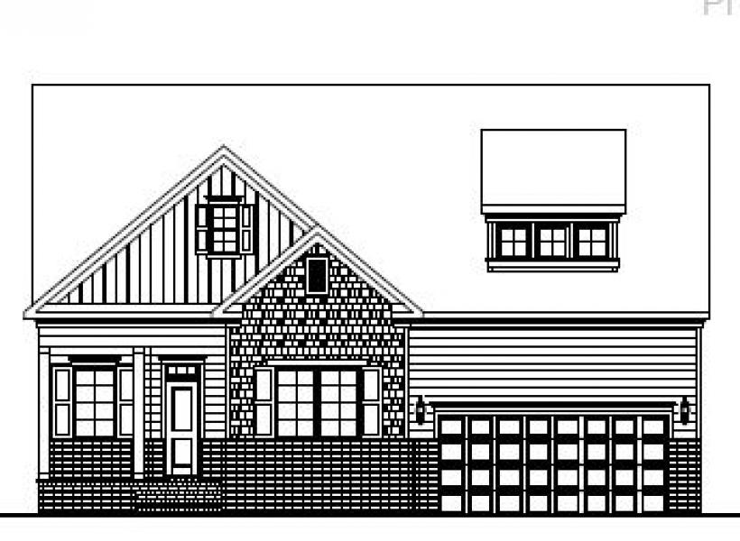 The Alexander at Amberly Manors, Cary - Elevation A