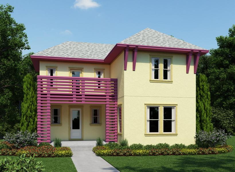 Anderson, Lake Nona - Elevation D