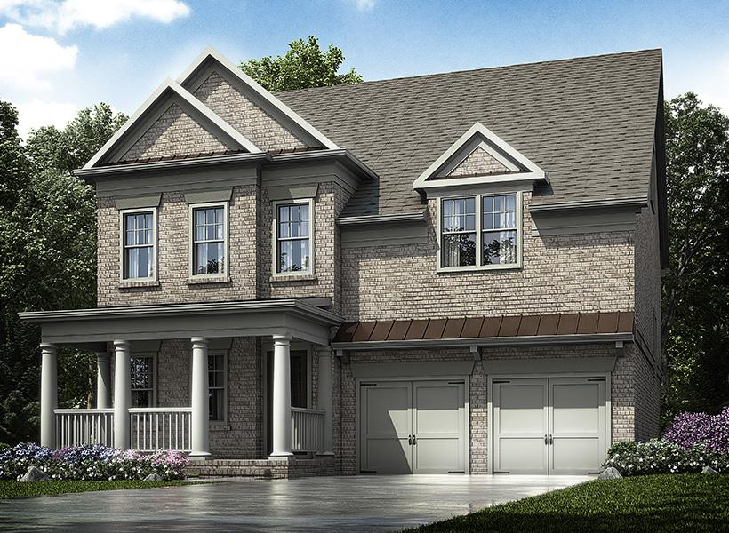 Marlow easthaven new home plan for easthaven community Atlanta home plans