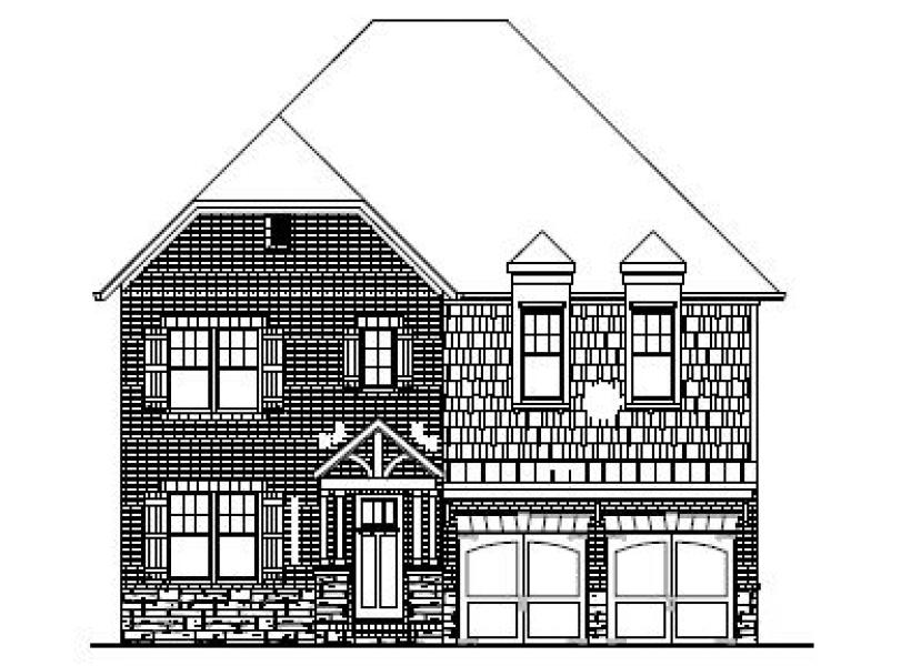 The Galloway at Amberly, Cary - Elevation B