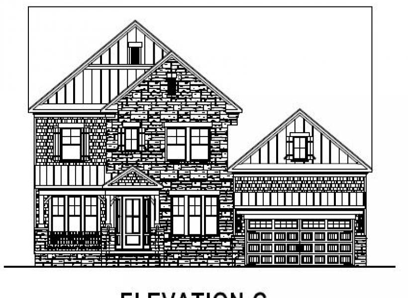 The Greenville at Pinebrook Hills, Raleigh - Elevation C