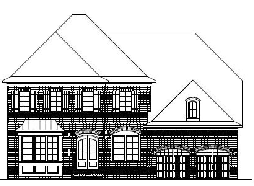 The Hanover at Pinebrook Hills, Raleigh - Elevation B
