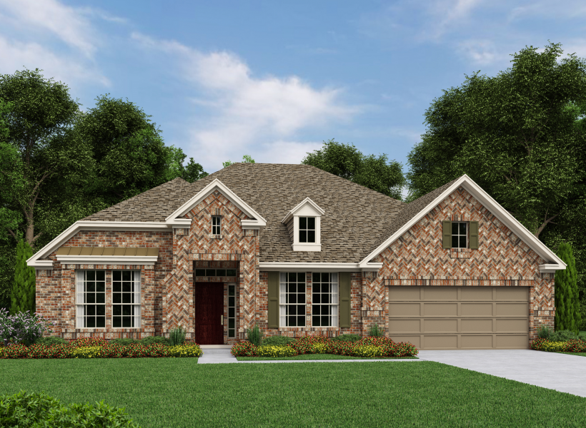Ashton Woods Floor Plans: Lorraine New Home Plan For Lakes At NorthPointe 65ft