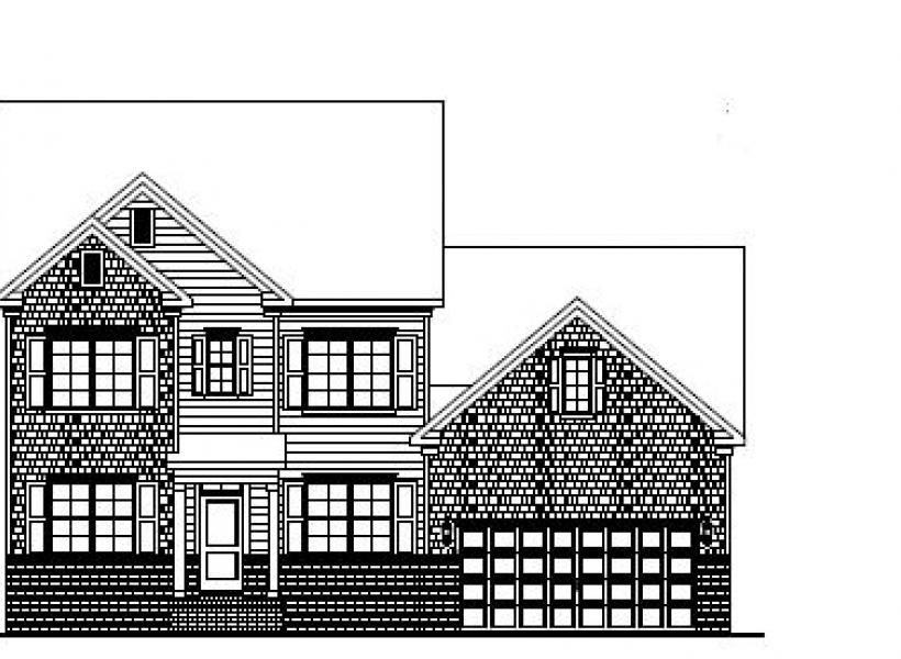 The Hudson at Amberly, Cary - Elevation A