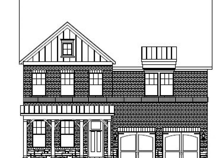 The Manchester at Waterstone Estates, Hillsborough - Elevation A