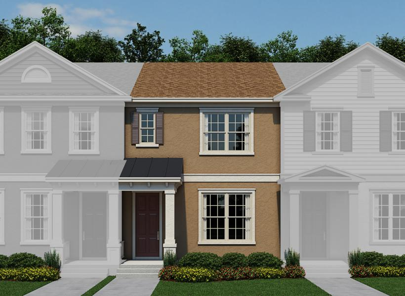 Kendal New Home Plan For Ashlin Park Townhomes Community