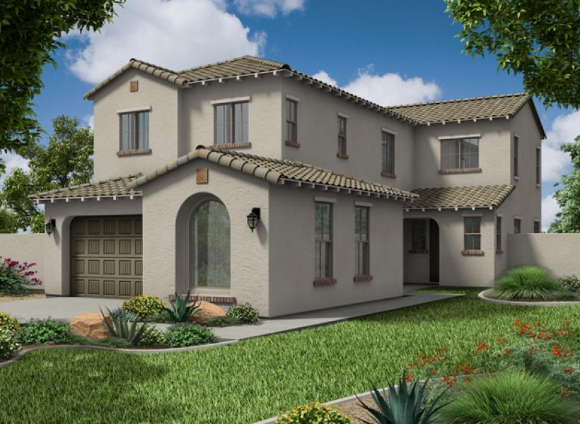 Cambridge New Home Plan For Collins Creek Community In