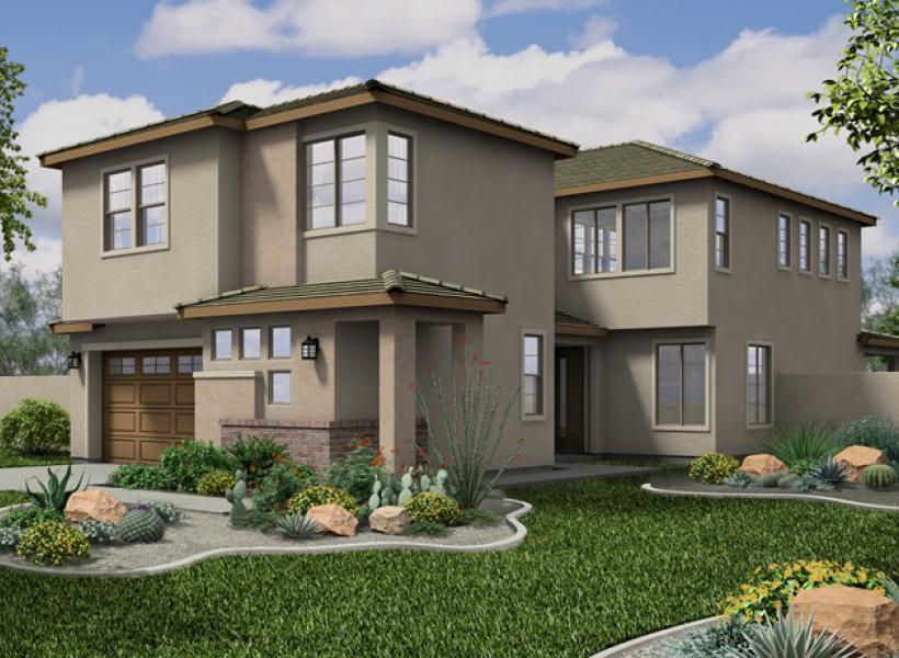 Windsor New Home Plan For Collins Creek Community In