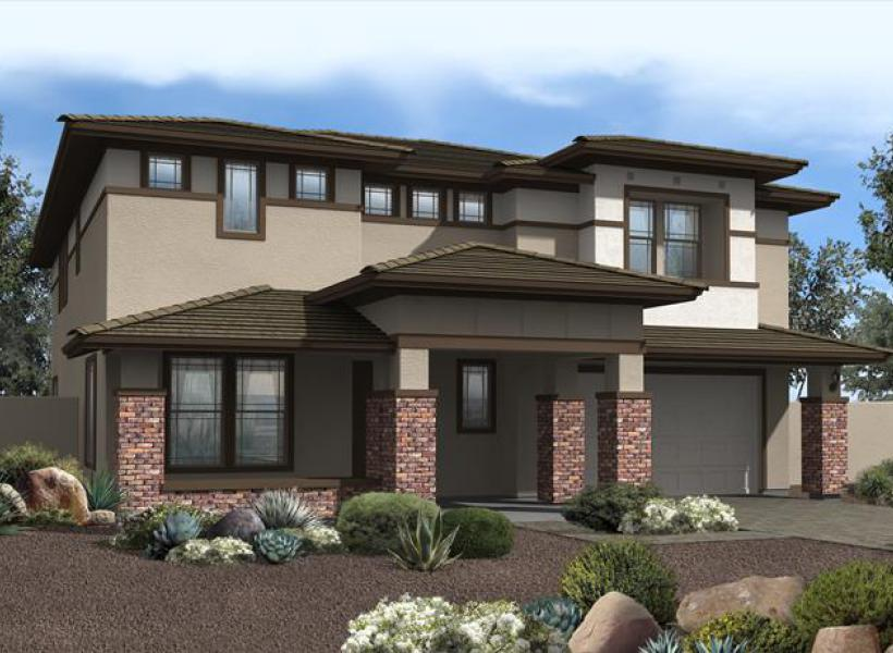 Mahogany New Home Plan For Bridlewood At Morrison Ranch