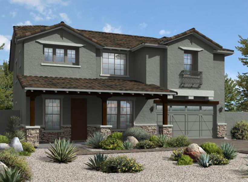 Walnut New Home Plan For Bridlewood At Morrison Ranch