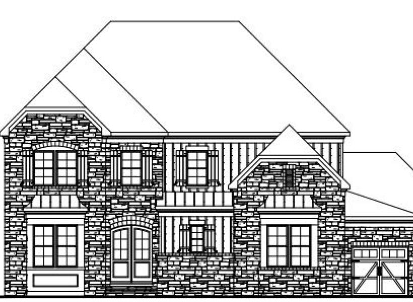 The Jefferson at Braemore, Cary - Elevation C