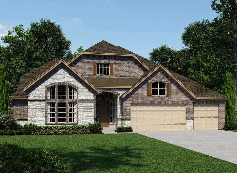 Salvatore, Fair Oaks Ranch - Elevation T