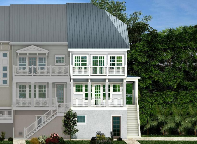 Topsail, Indian Shores - Elevation A