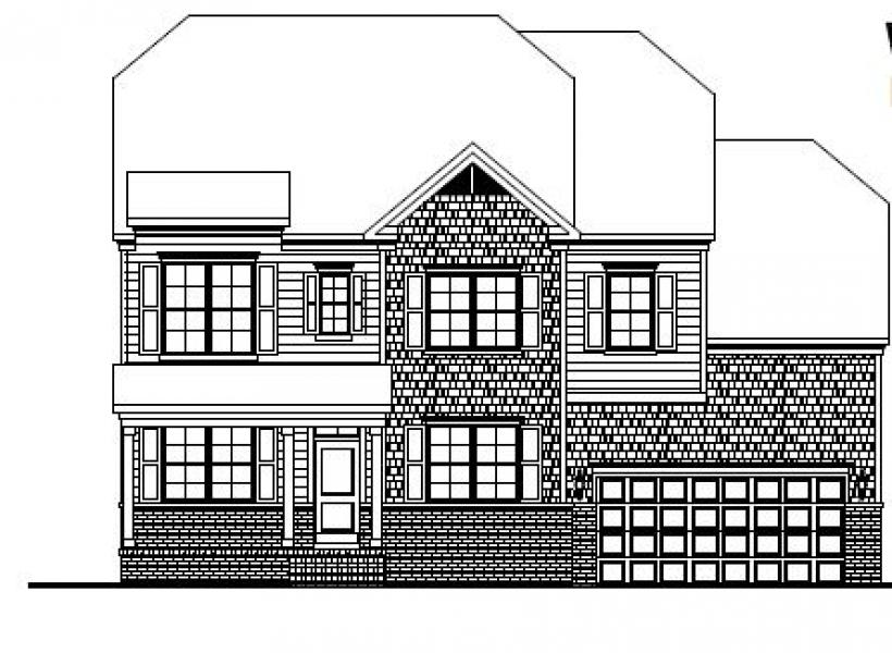 The Wheylon at Amberly, Cary - Elevation A