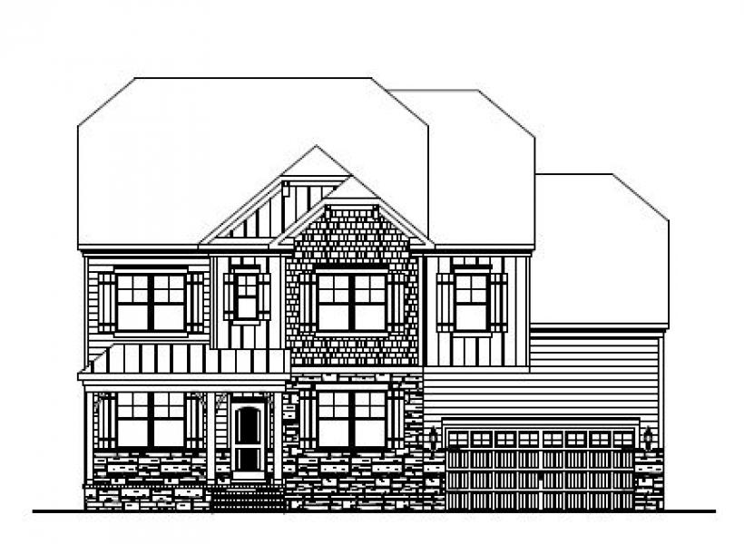 The Wheylon at Amberly, Cary - Elevation C