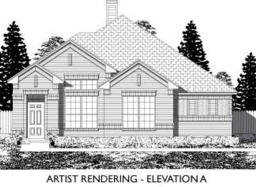 Amherst,  - Elevation A