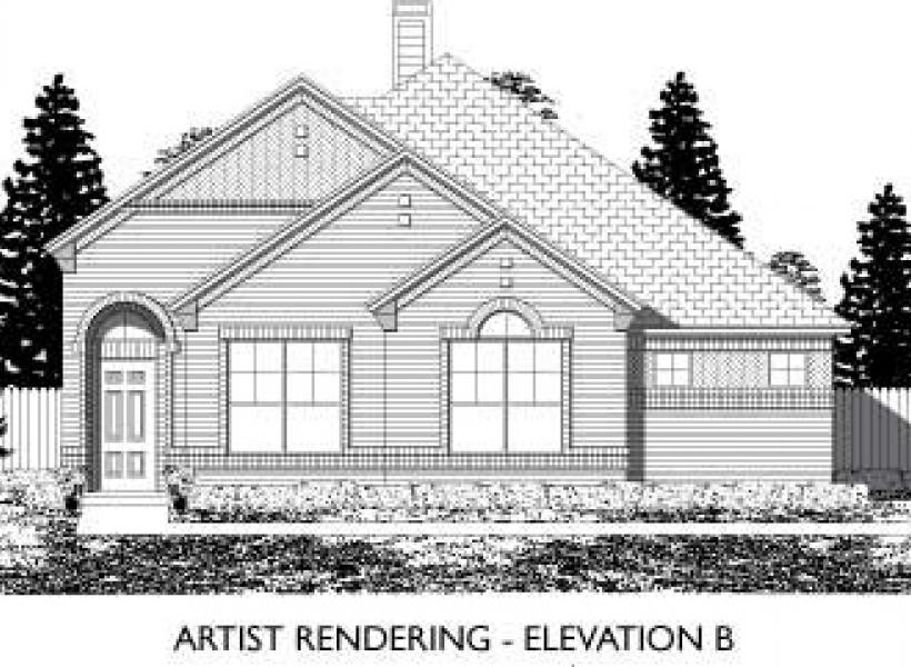 Amherst,  - Elevation B