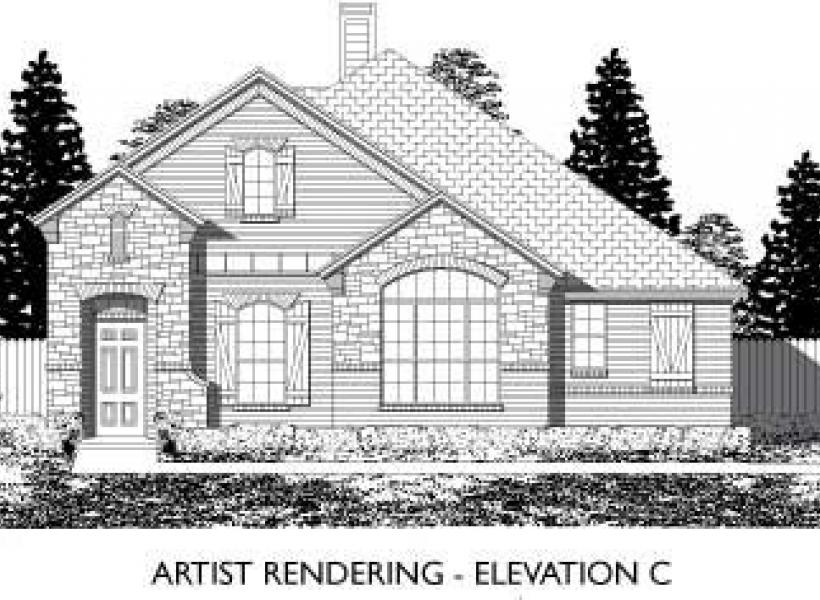 Amherst,  - Elevation C