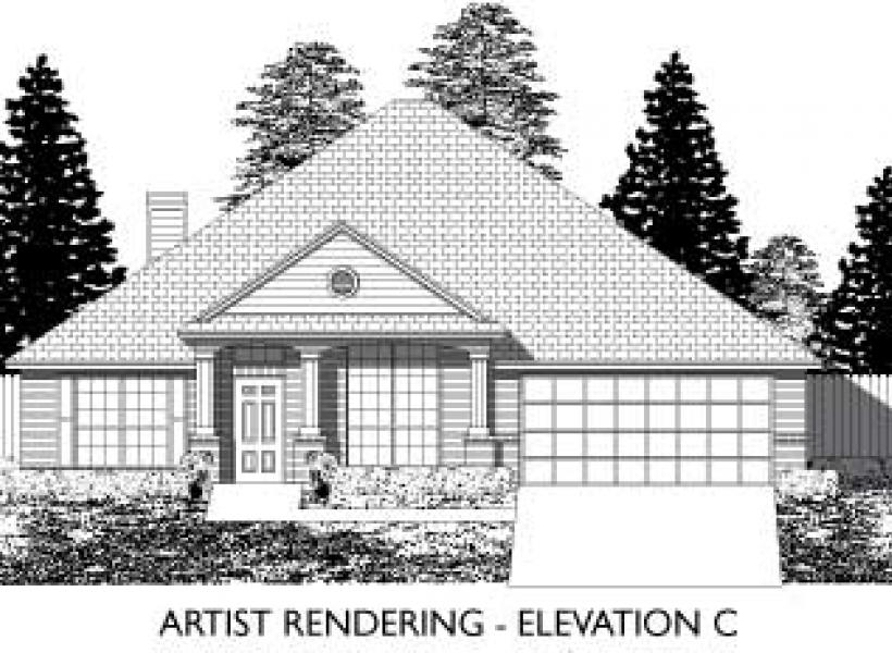 Bellfair,  - Elevation C
