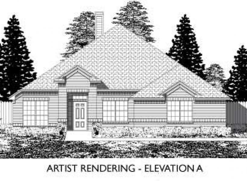 Lakecrest,  - Elevation A