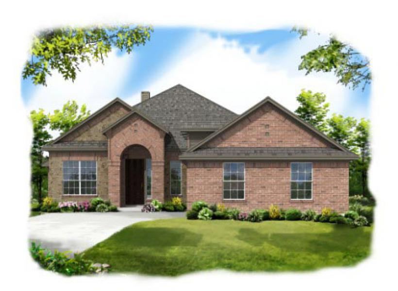 Greenbriar,  - Elevation B