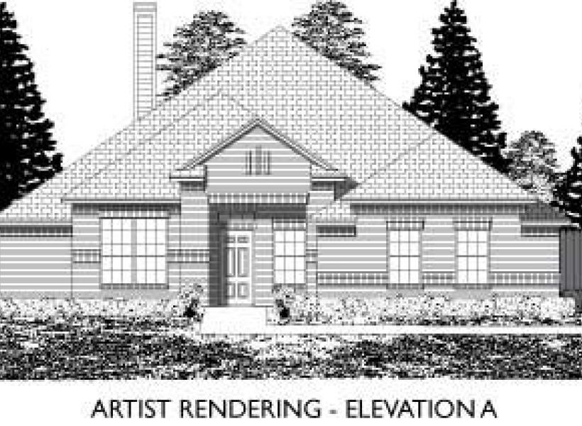 Ridgecrest,  - Elevation A