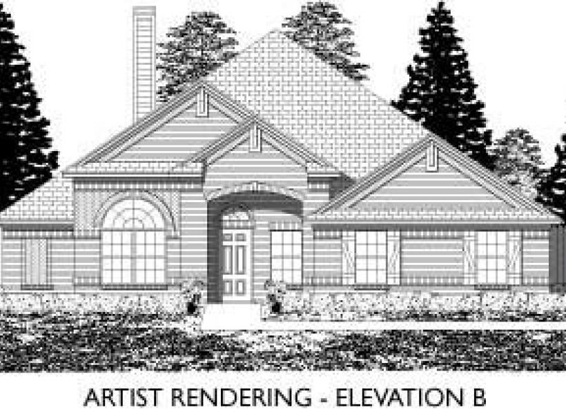 Ridgecrest,  - Elevation B