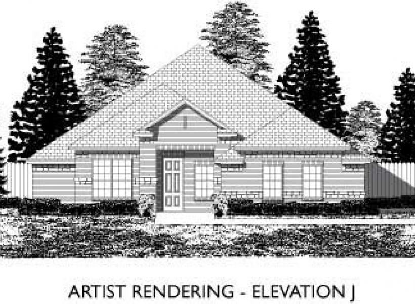 Ridgecrest,  - Elevation J