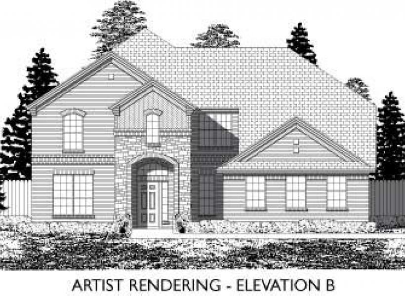 Buckingham,  - Elevation B