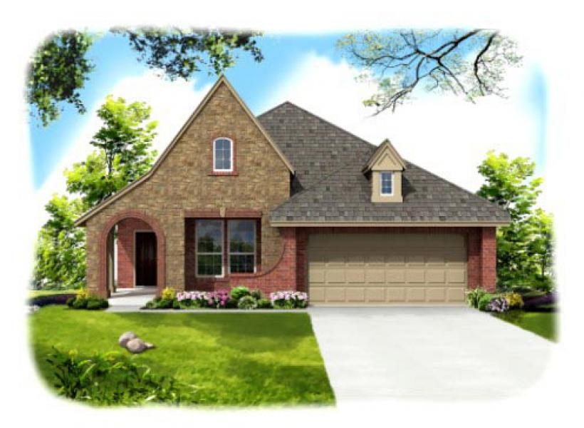 Benbrook,  - Elevation C