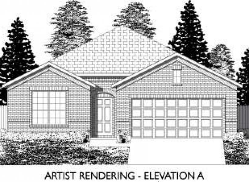 Abilene,  - Elevation A