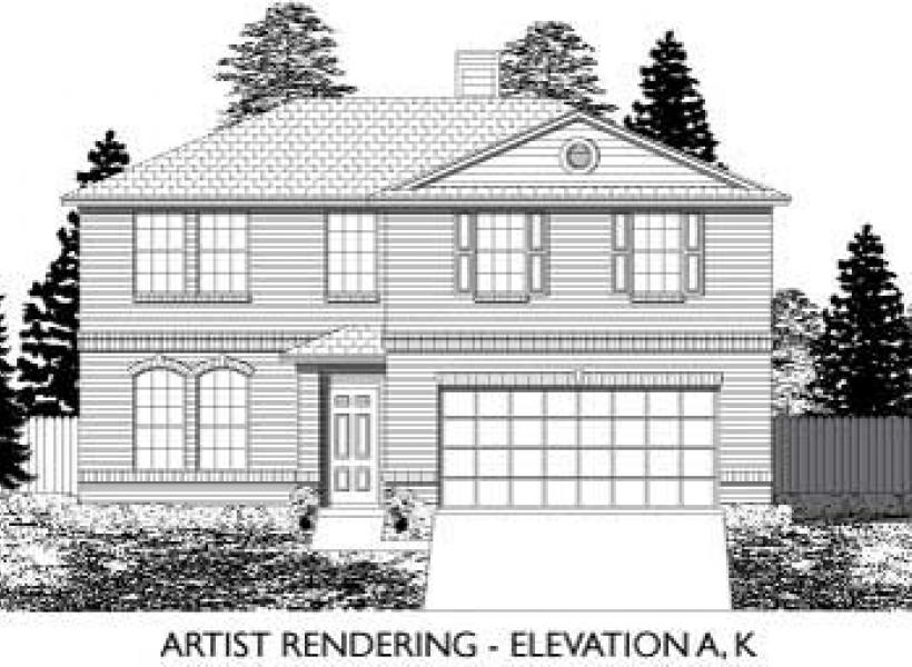 Heritage,  - Elevation A